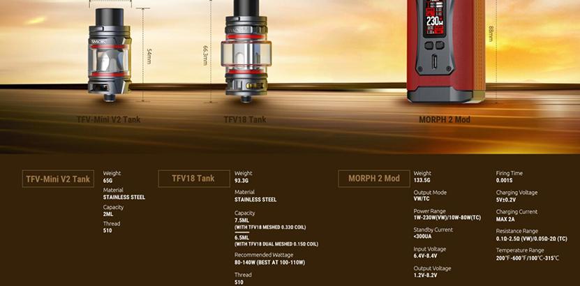SMOK Morph 2 Kit Feature 19
