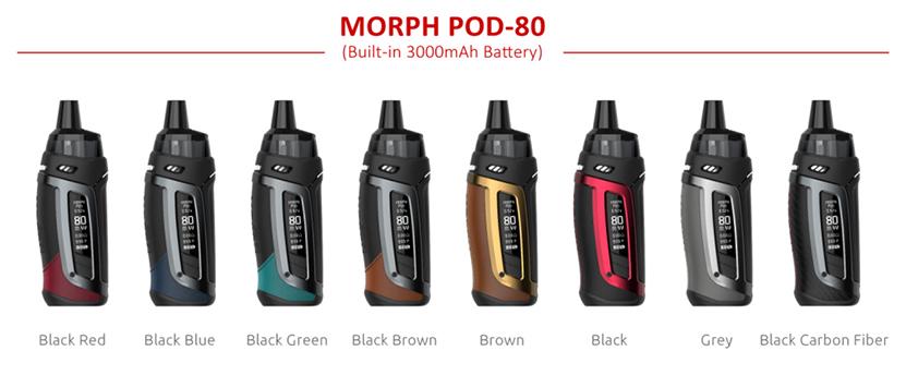 SMOK Morph Pod 80 Kit Colors