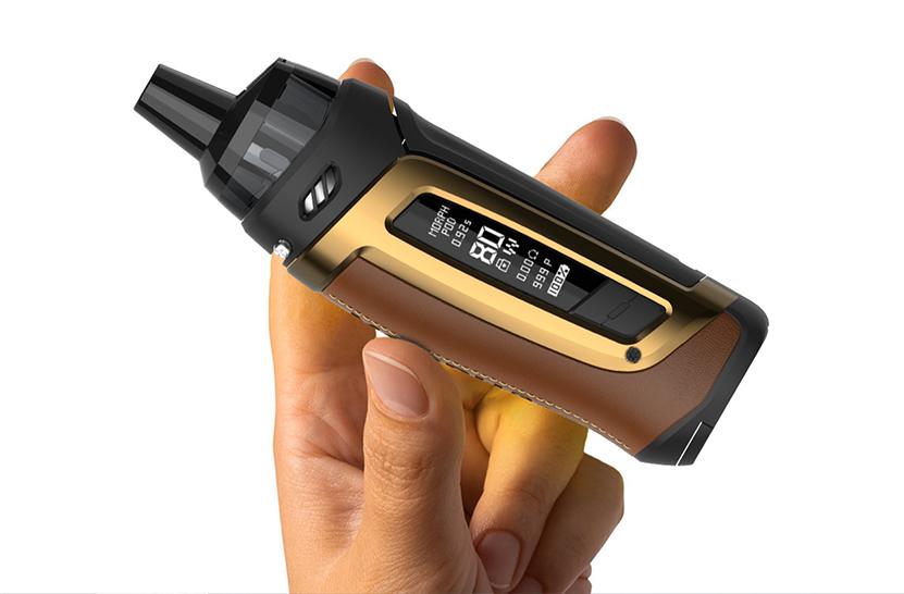 SMOK Morph Pod 80 Kit Comfortable to hold