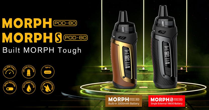 SMOK Morph Pod 80 Kit Coming