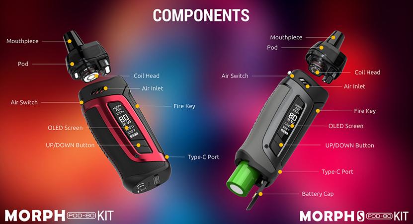 SMOK Morph Pod 80 Kit Component