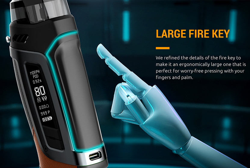 SMOK Morph Pod 80 Kit Large Fire Key