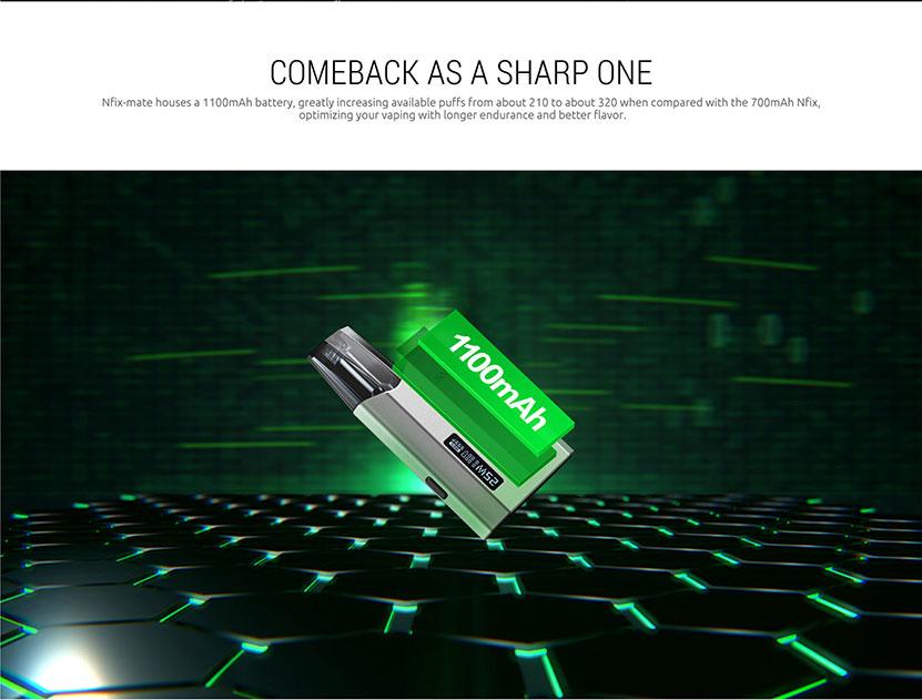 SMOK Nfix Mate 25W Pod Starter Kit Battery