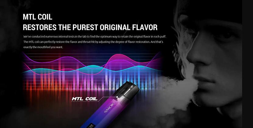 SMOK Nfix Pod Cartridge MTL Coil
