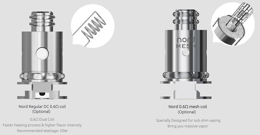 SMOK Nord 2 Empty Pod Cartridge Feature 2