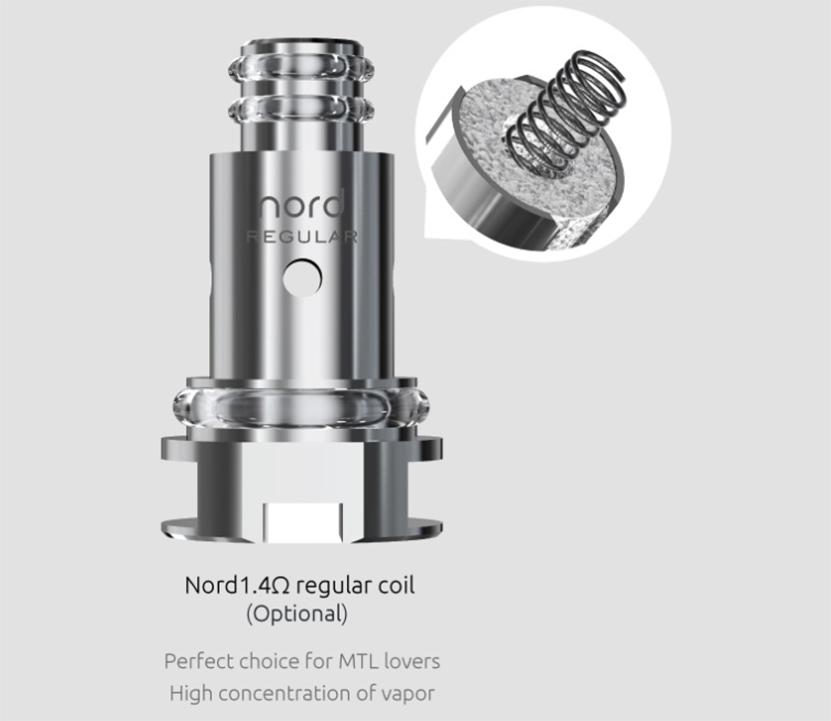 SMOK Nord 2 Empty Pod Cartridge Feature 3