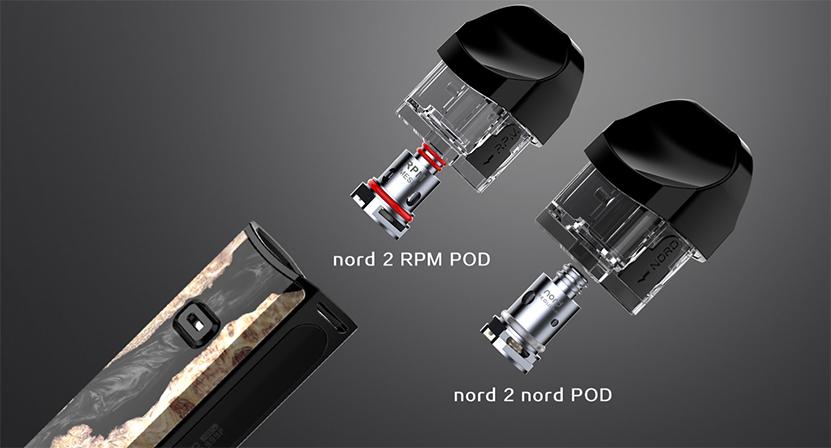 SMOK Nord 2 Empty Pod Cartridge Feature 7