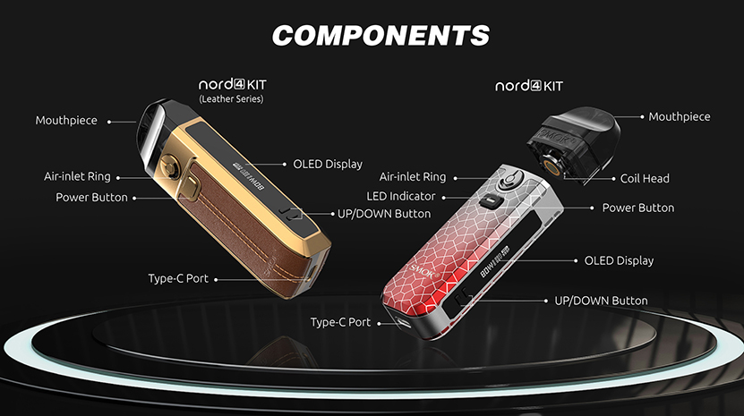 SMOK Nord 4 Kit Feature 6