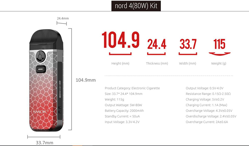 SMOK Nord 4 Kit Feature 10