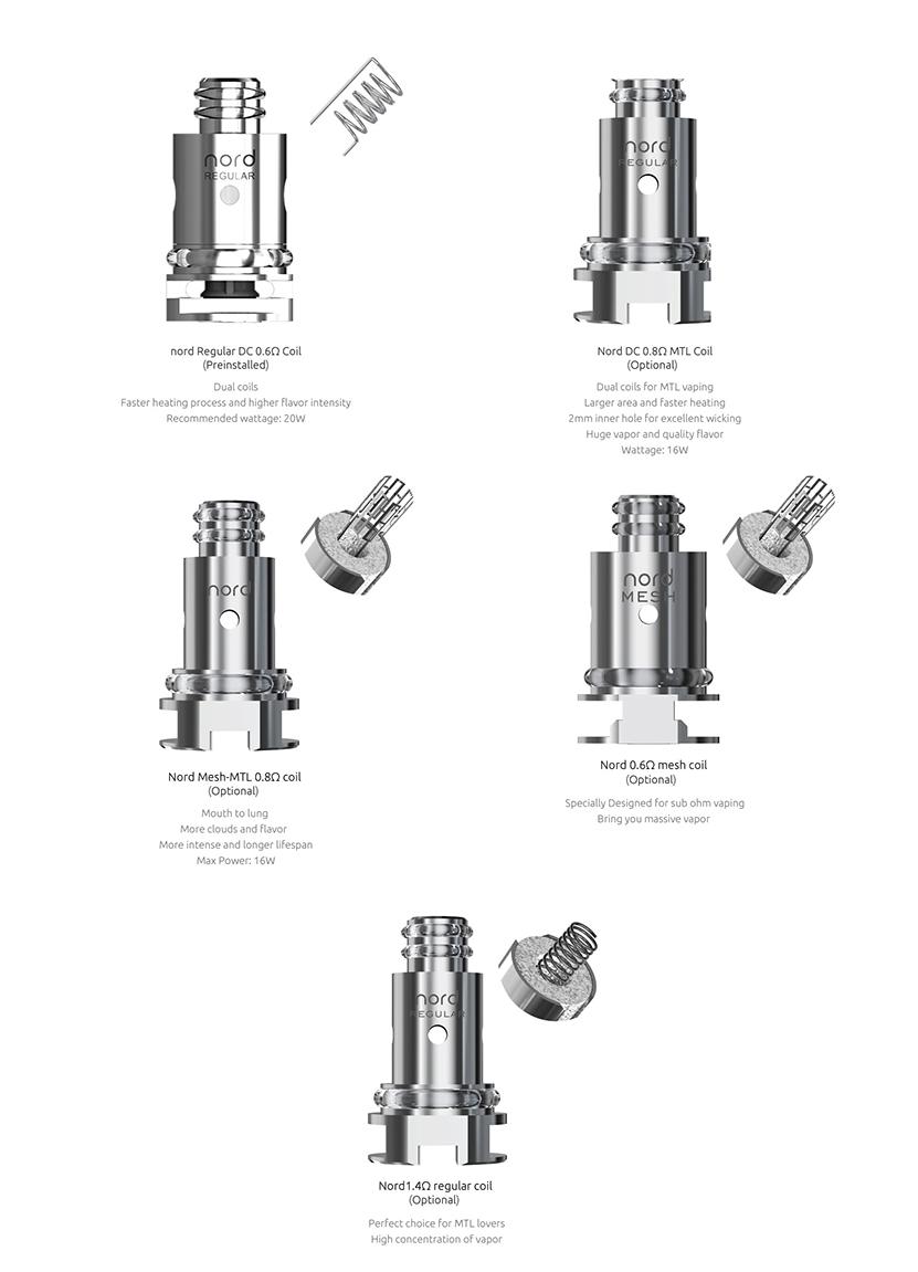 SMOK Nord 50W Kit coil3