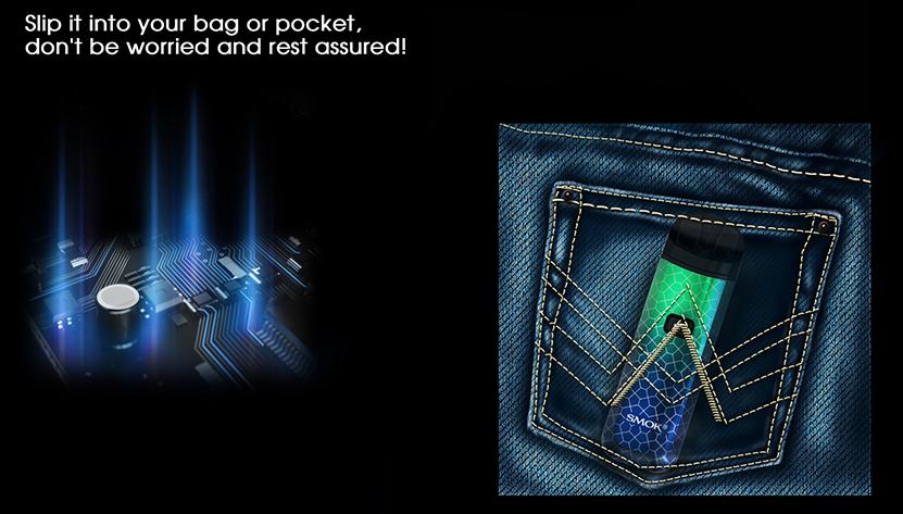 SMOK Nord  Pro Kit Size