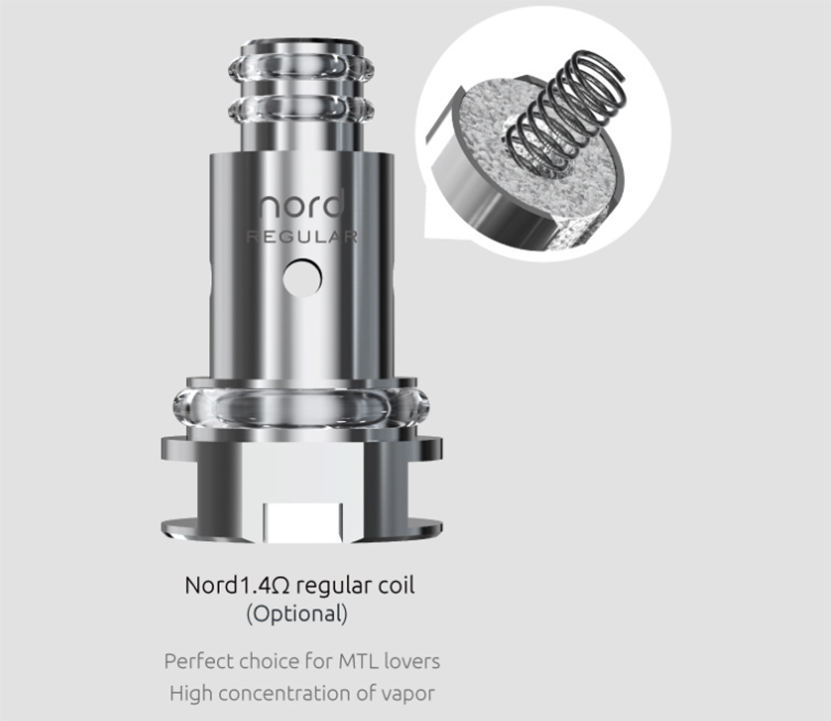 SMOK Nord Replacement Coil Introduction 3