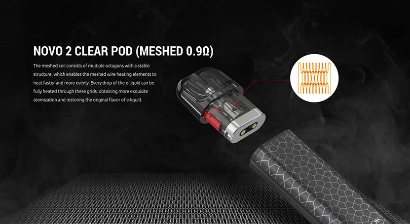 SMOK Novo 2S Kit Clear Pod