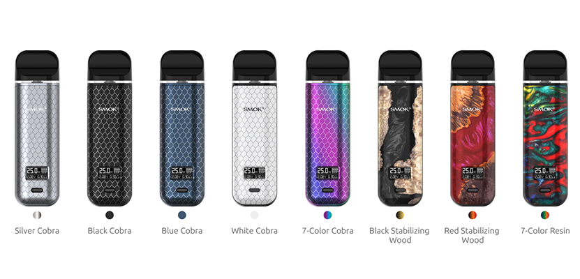 SMOK Novo X Kit All Colors