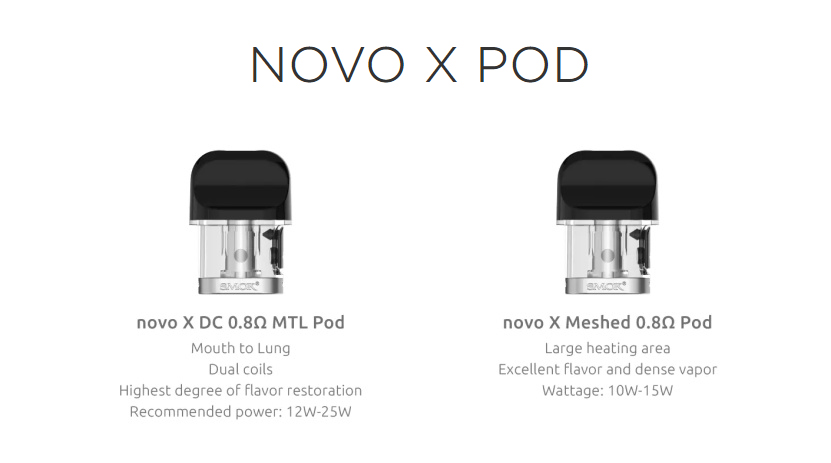 Novo X Kit Pod Cartridge