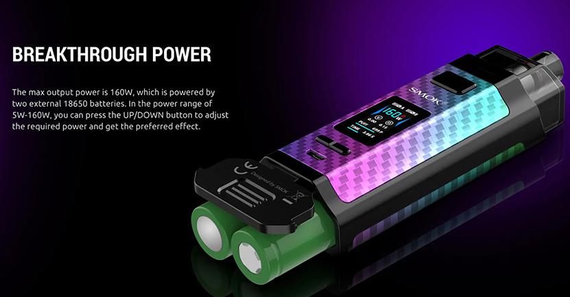 SMOK RPM160 Pod Kit Dual 18650