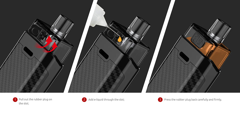 SMOK RPM160 Mod Pod Kit Filling Type