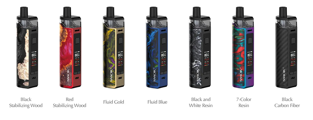SMOK RPM80 PRO Vape Kit Colors