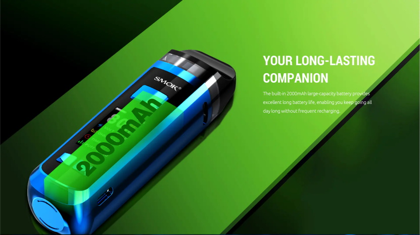 RPM 2 Pod Kit 2000mAh Battery