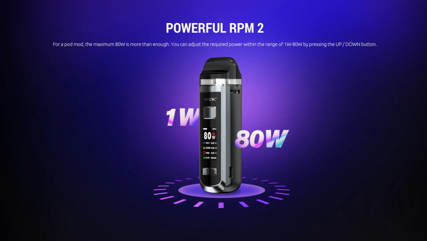 RPM 2 Pod Kit Adjustable Power