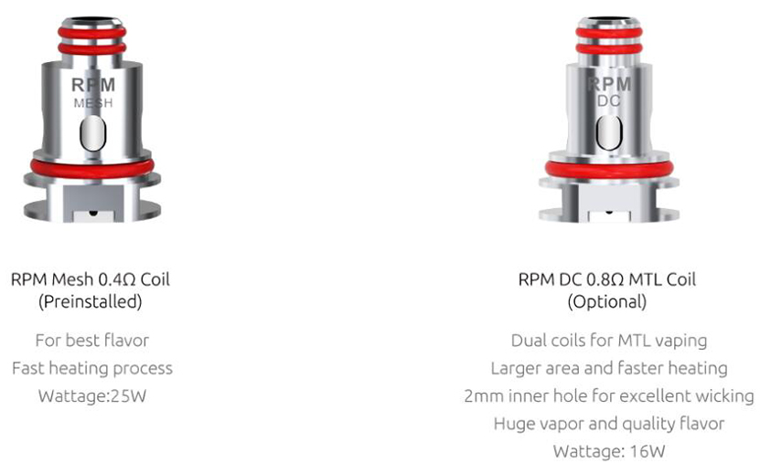 SMOK RPM 4 Kit Feature 6