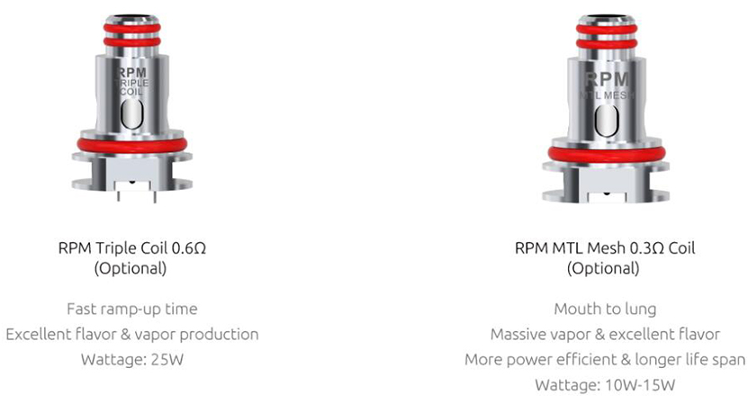 SMOK RPM 4 Kit Feature 8