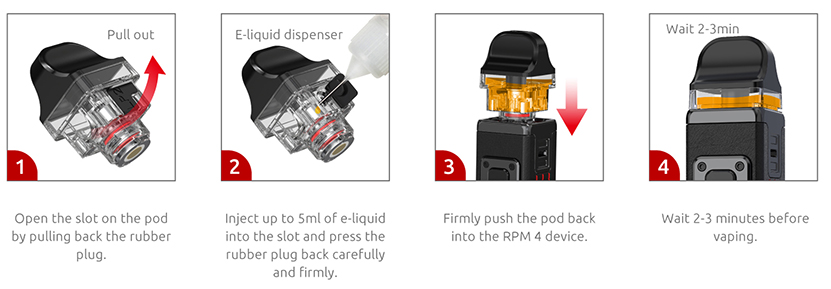 SMOK RPM 4 Kit Feature 15