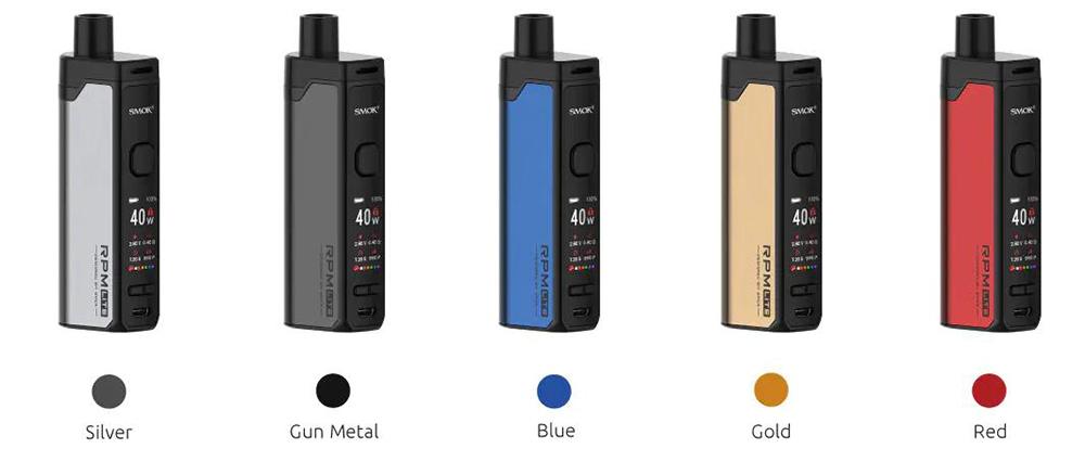 SMOK RPM Lite Vape Kit Colors