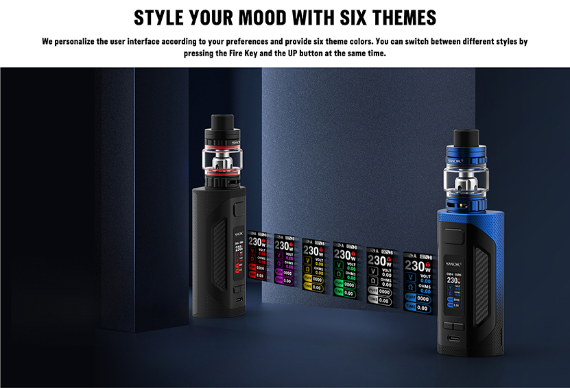 SMOK Rigel Mod Kit 6 Themes