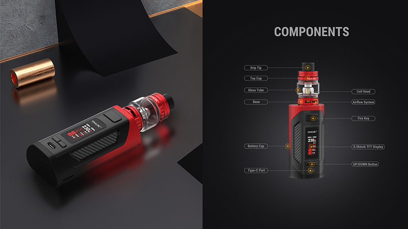 SMOK Rigel Kit Structure