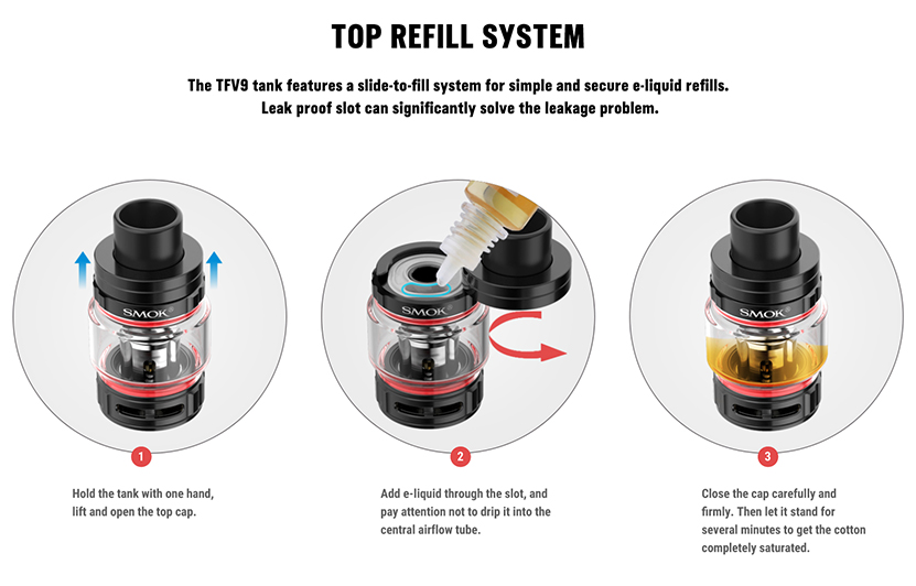 Rigel Box Mod Kit Top Filling