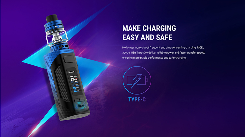 SMOK Rigel Box Mod Kit Type C
