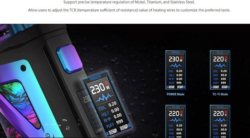 SMOK SCAR-18 Kit Feature 1