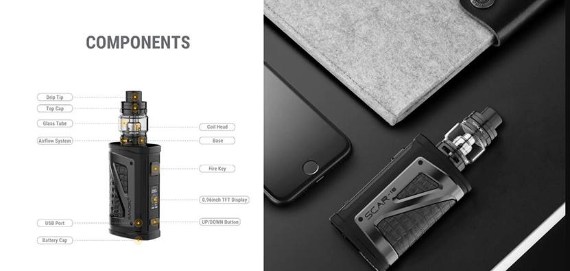 SMOK SCAR-18 Kit Feature 7