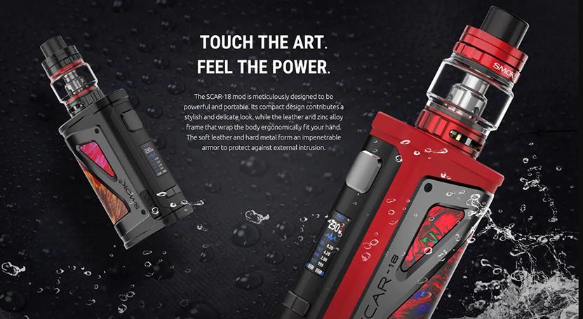 SMOK SCAR-18 Kit Feature 11