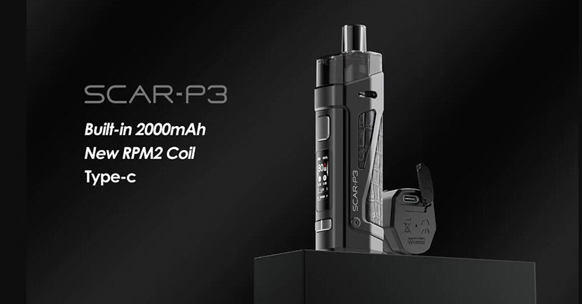 SMOK SCAR-P3 Kit Feature 2