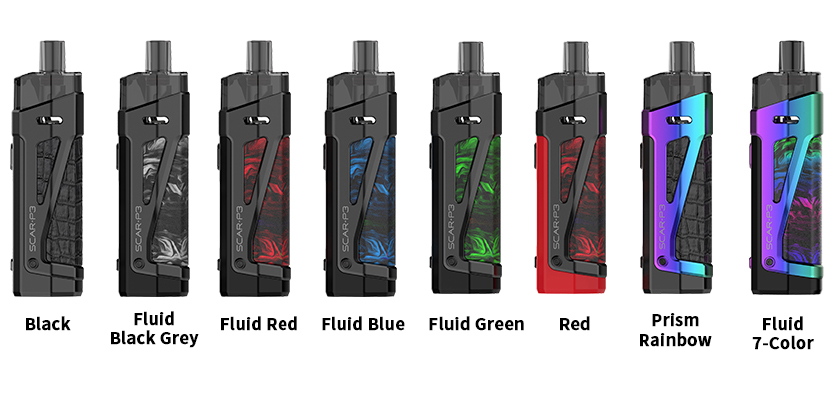 SMOK SCAR-P3 Kit Colors