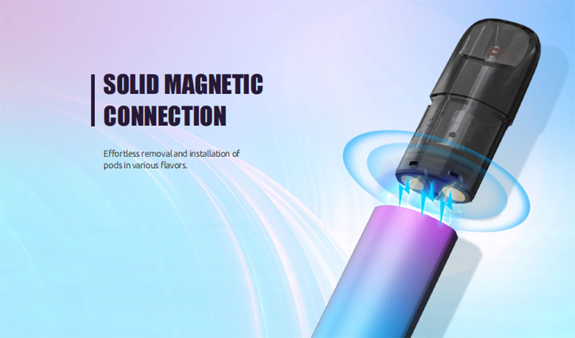 SMOK SOLUS Pod Cartridge Connection