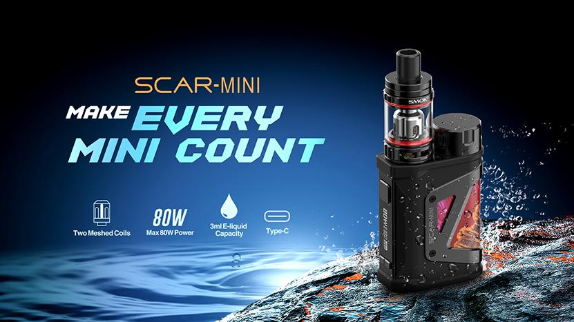 SMOK Scar-Mini Kit Feature 9