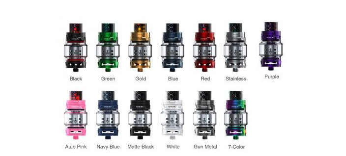 SMOK TFV12 Prince Cloud Beast Tank Colors