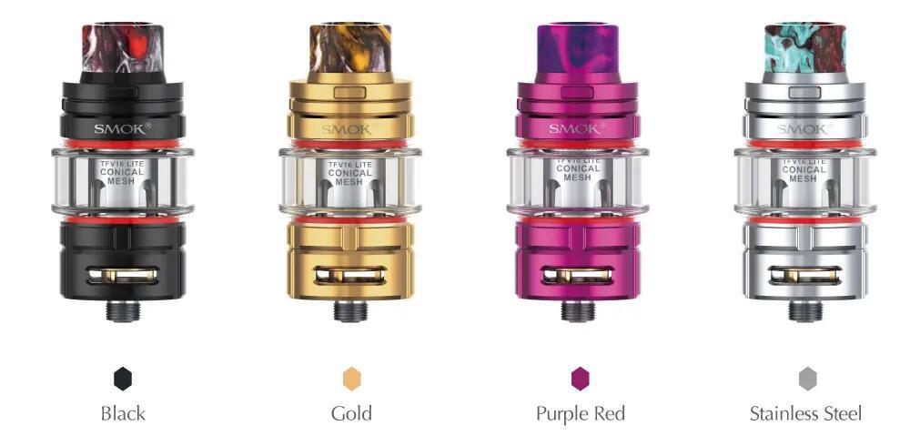 SMOK TFV16 Lite Tank Colors
