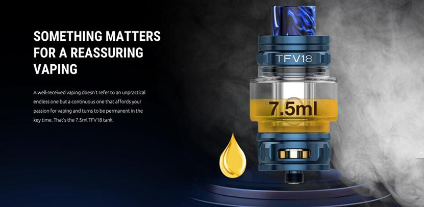 SMOK TFV18 Tank Feature 2
