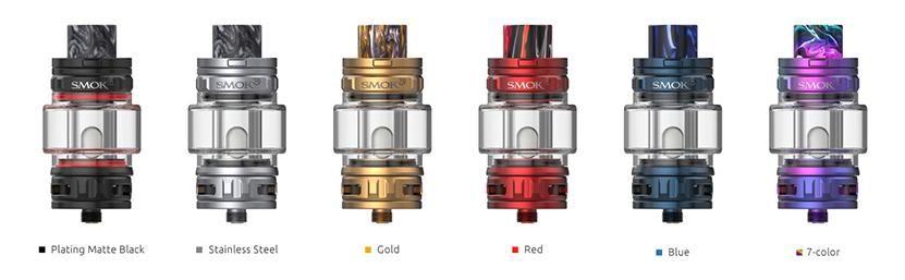 SMOK TFV18 Tank Colors