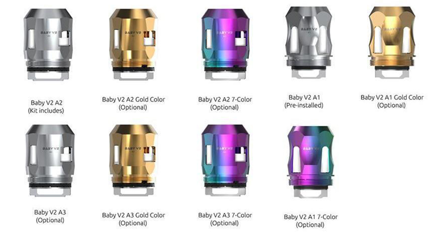 SMOK TFV8 Baby V2 Coil All the Types