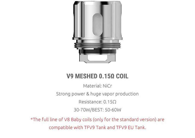 SMOK TFV9 Tank Featur 7