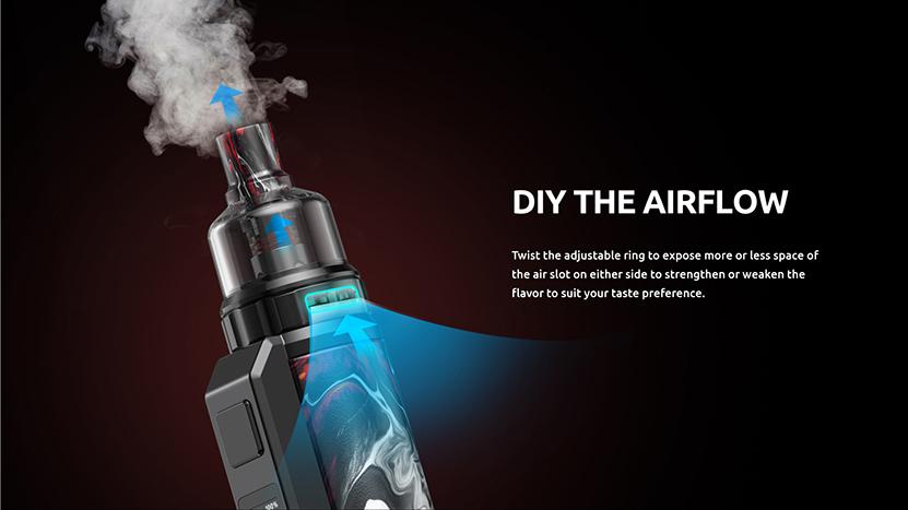 SMOK Thallo S 100W Kit Airflow
