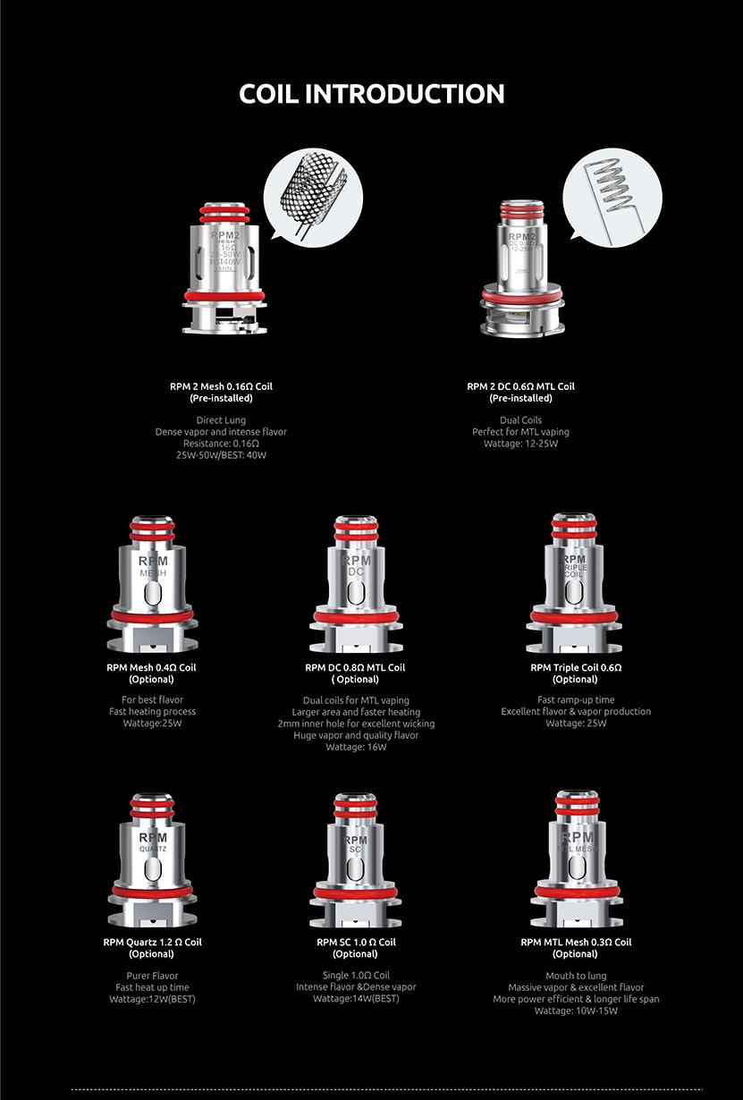 SMOK Thallo S 100W Kit Coils
