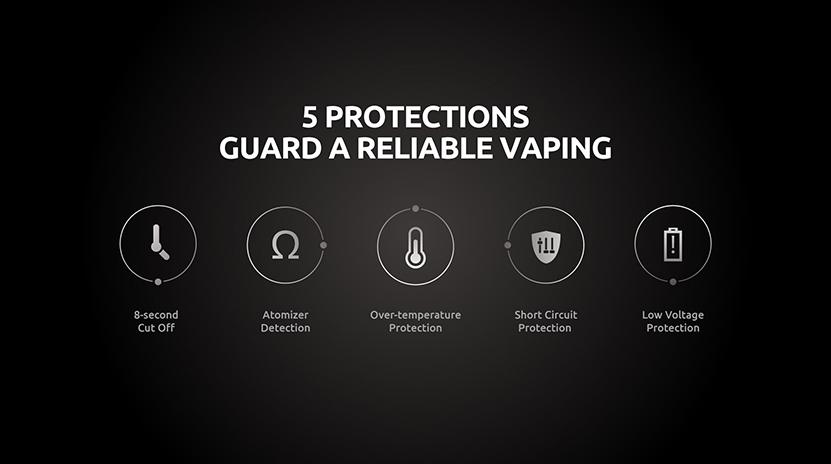 SMOK Thallo S Pod Mod Kit Protections