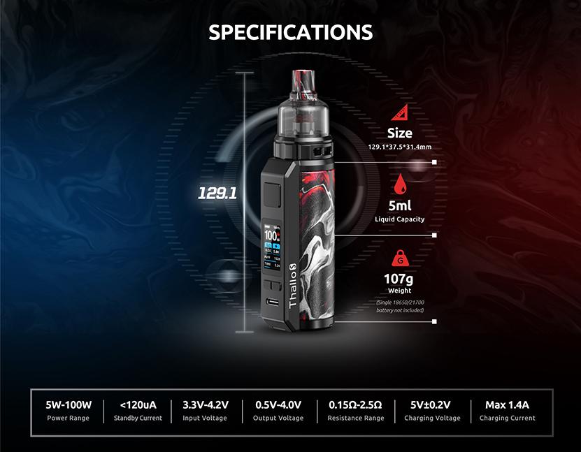 Thallo S Pod Mod Kit Specification