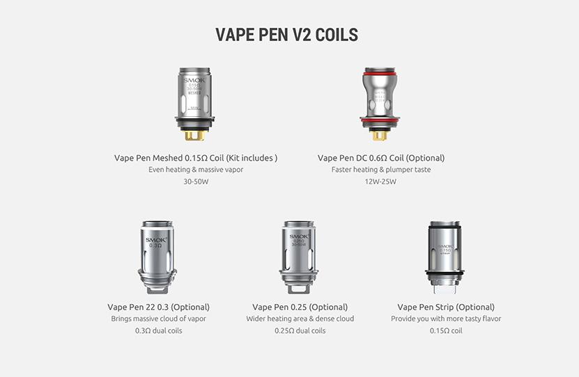 SMOK Vape Pen V2 Kit Feature 14